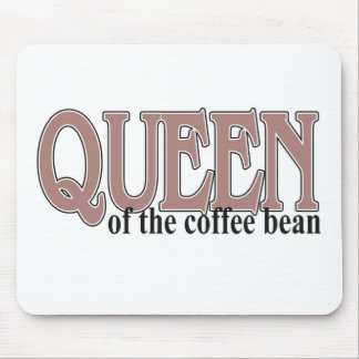 Queen of the Coffee Bean Mouse Pad
