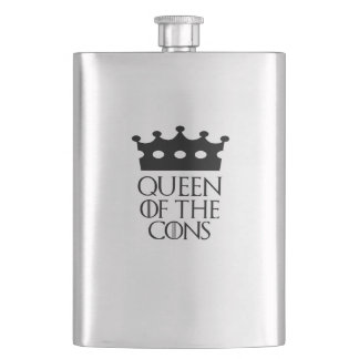 Queen of the Cons, #Cons Flask