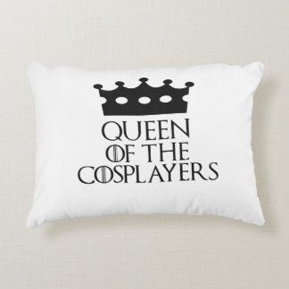 Queen of the Cosplayers, #Cosplayers Accent Pillow