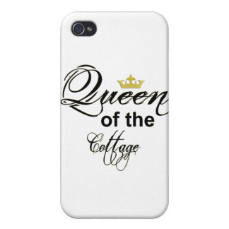 Queen Of The Cottage electronics I-4 Covers For iPhone 4