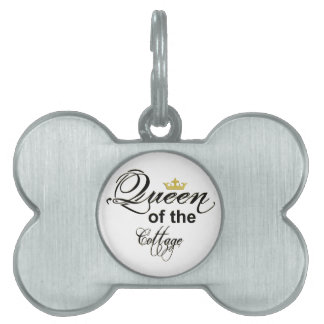 Queen of the Cottage Pet Tag