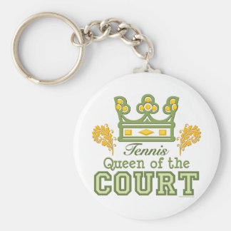 Queen Of The Court Key Chain