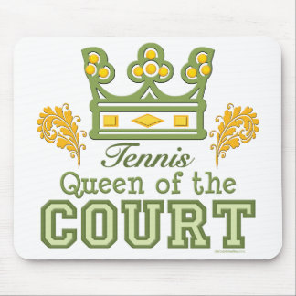 Queen Of The Court Tennis Mousepad
