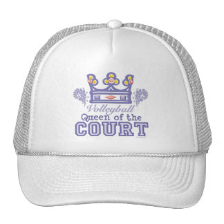 Queen of the Court Volleyball Hat