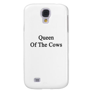 Queen Of The Cows Samsung Galaxy S4 Cover