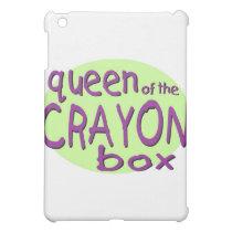 Queen of the Crayon Box iPad Mini Case