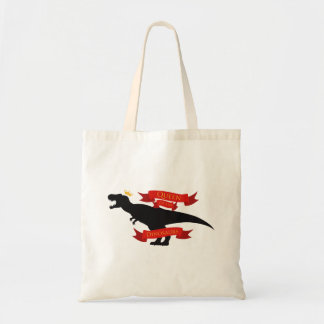 Queen of the Dinosaurs Tote Bag