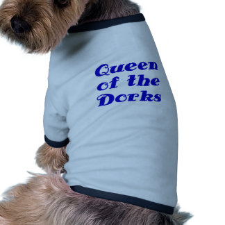 Queen of the Dorks Dog Clothes