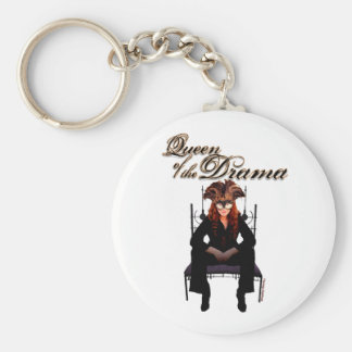 Queen of the Drama Keychains