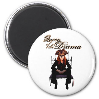 Queen of the Drama Refrigerator Magnet