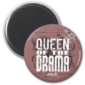 Queen of the Drama Fridge Magnets