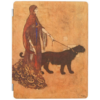 Queen of the Ebony Isles Edmund Dulac Fine Art iPad Smart Cover