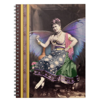 Queen of the Faires Vintage Photo Notebook
