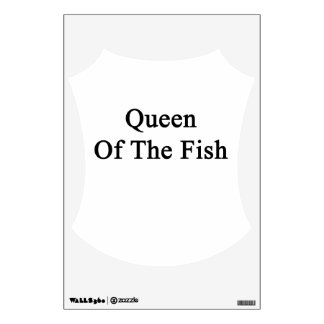 Queen Of The Fish Wall Decal