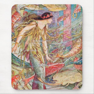 Queen of the Fishes: The Orange Fairy Book Mouse Pad