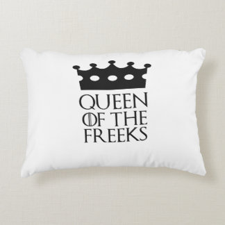 Queen of the Freeks, #Freeks Accent Pillow