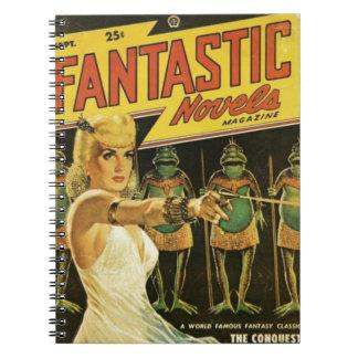 Queen of the Frog Men Notebook