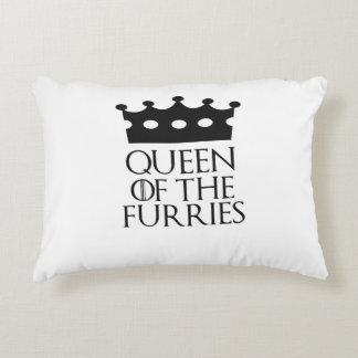 Queen of the Furries, #Furries Accent Pillow