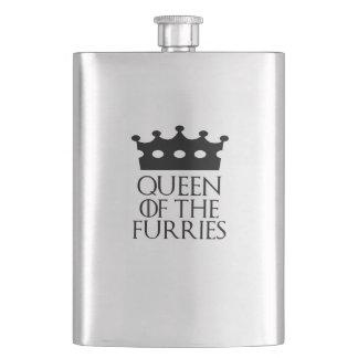 Queen of the Furries, #Furries Flask