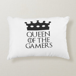 Queen of the Gamers, #Gamers Accent Pillow