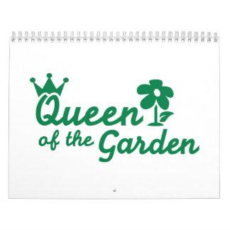 Queen of the garden calendars