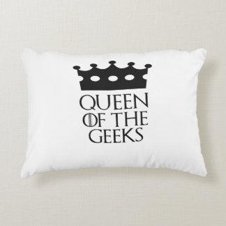 Queen of the Geeks, #Geeks Accent Pillow