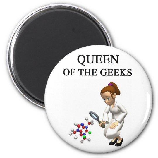 QUEEN of the geeks Magnet