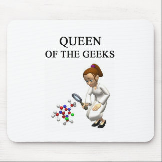 QUEEN of the geeks Mouse Pad