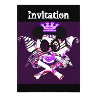 """Queen Of The Ghosts""Invitation card""*"