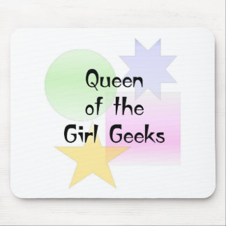Queen of the Girl Geeks Mouse Pad