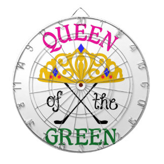 Queen Of The Green Dart Board