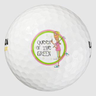 Queen of the Green golf balls
