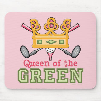 Queen of the Green Mousepad