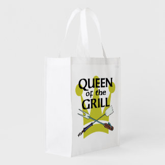 Queen of the Grill Grocery Bag