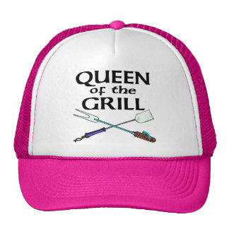 Queen of the Grill Mesh Hats