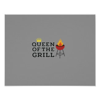Queen of the grill poster