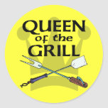 Queen of the Grill Sticker