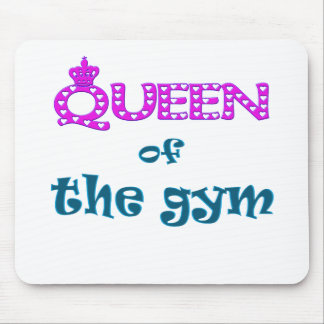 Queen of the Gym Mouse Pad