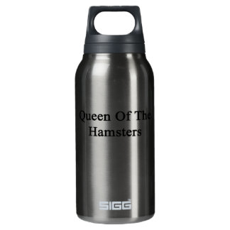Queen Of The Hamsters Insulated Water Bottle