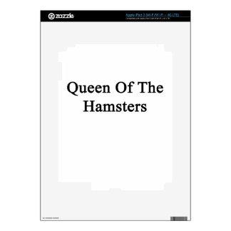 Queen Of The Hamsters iPad 3 Decals