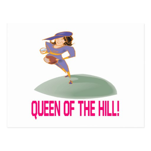 Queen Of The Hill Post Card