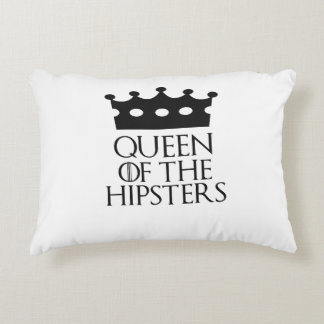 Queen of the Hipsters, #Hipsters Accent Pillow
