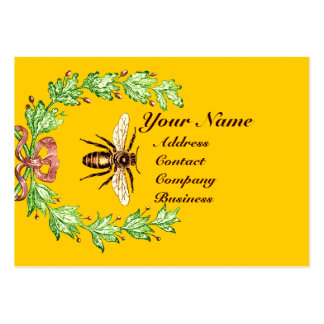QUEEN OF THE HONEY BEES  IN SKEP / BEEKEEPER BUSINESS CARD TEMPLATES