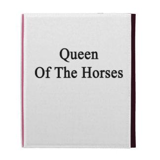 Queen Of The Horses iPad Cases