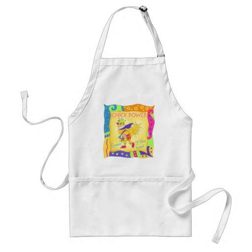 Queen of the Hunt Chick Power Apron