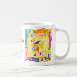 Queen of the Hunt Chick Power Mug