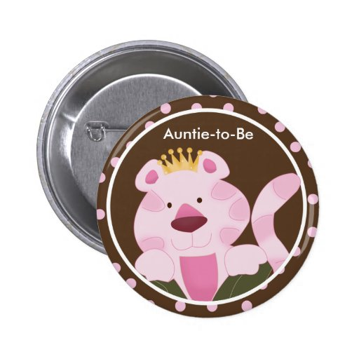 queen of the jungle baby shower button zazzle