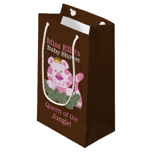 Queen of the Jungle Pink Tiger Custom Gift Bag