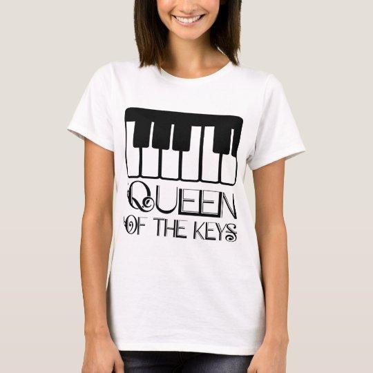 Queen of the Keys Piano T-Shirt