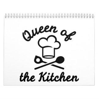 Queen of the kitchen calendar